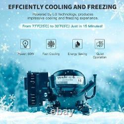 Alpicool T50 Fridge Freezer 50L Portable Car Refrigerator 12V24V Electric Cooler