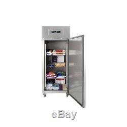 Arctica 2/1GN Freezer Single Door Stainless Steel 670 Litre HEC915 Commercial