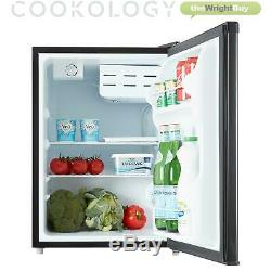 Black Cookology Tabletop Mini Fridge & Ice Box Freezer 67L Drinks & Beer Cooler