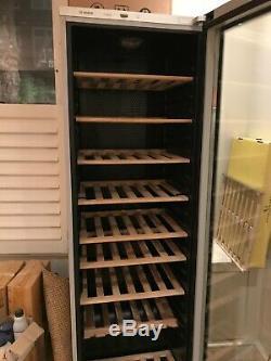 Bosch tall wine fridge 120 bottles