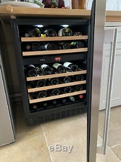 CDA Wine Cooler Fridge fwc603ss Dual Zone Temperature Control