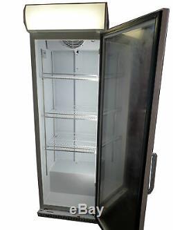 Capital Vesta Commercial Display Fridge/Upright Single Glass Door Drinks Chiller