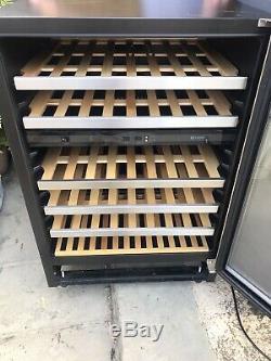 Caple Wi6123 46 Bottle 600mm/60cm Under Counter Wine Cabinet/Cooler/Fridge
