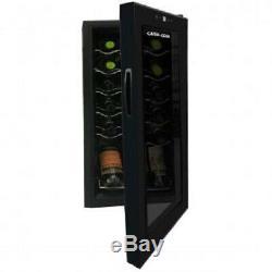 Cater-Cool CK6018 18 Bottle Single Door Commercial Wine Cooler