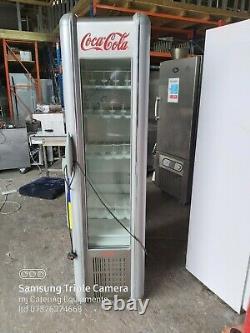 Coca Cola upright single door drink display fridge slim line drink fridge +1/+4