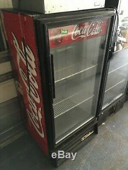 Commercial Single Door Coca Cola Coke Fridge