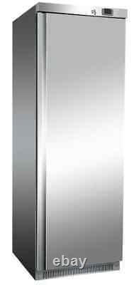 Commercial Stainless Steel Single Door Upright Storage Fridge Restaurant Kitchen
