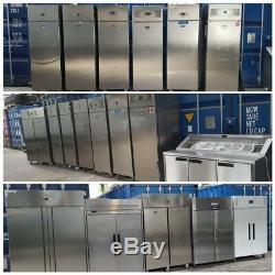 Commercial single door fridge and freezer foster williams steamer fryer cooker