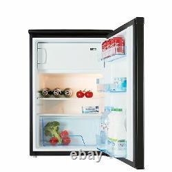 Cookology UCIB113BK 55cm Freestanding Undercounter Fridge & Ice Box in Black