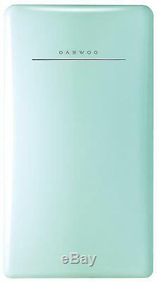 Daewoo FR-044RCNM Retro Compact Refrigerator, 4.4 cu. Ft, Mint