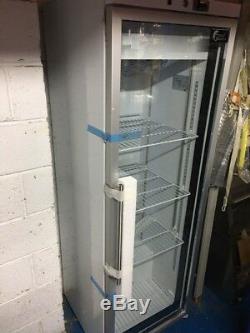 Display Upright Bottle Cooler Drinks Fridge Beer Chiller Single Door