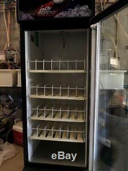 Dr Pepper Single Door Reach In Cooler Refrigerator