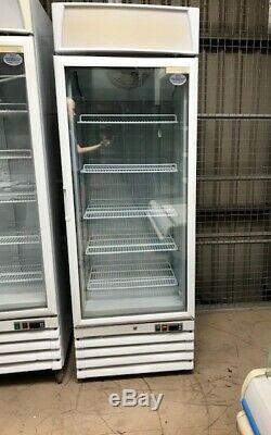 Eco Freeze Upright Single Glass Door Freezer, Display Freezer 409