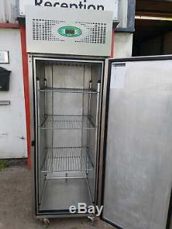 FOSTER single door chiller commercial stainless steal fridge for restaurant 600L