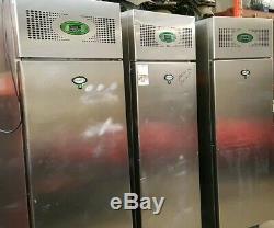 Foster Upright Single door Fridge stsinless steal price £550 for each fridge