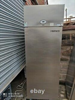 Foster single door commercial fridge silver. Takeaway/restaurant