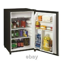 Frigidaire 1.8 Cu. Ft. Beverage Mini Fridge Compact Home Refrigerator, Silver