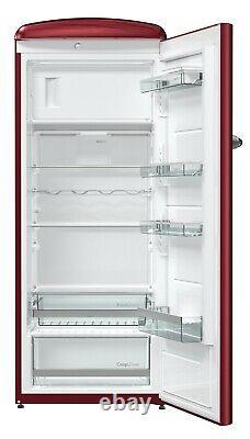 Gorenje Retro Freestanding Refrigerator ORB153 A+++