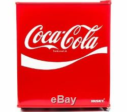 HUSKY Coca-Cola HUS-HU252 Mini Fridge Red Currys