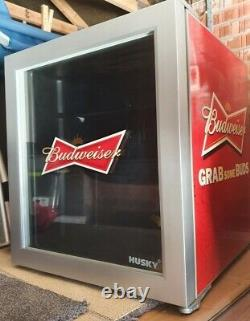 Husky Budweiser Drinks Fridge