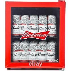 Husky HU225 Mini Fridge/Drinks Cooler Budweiser HU225