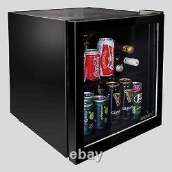 Husky HY192-hu-sl Black Drinks Cooler
