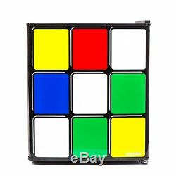 Husky Mini Fridge Rubiks Cube Table Top Drink Chiller Cooler Novelty Cabinet Bar