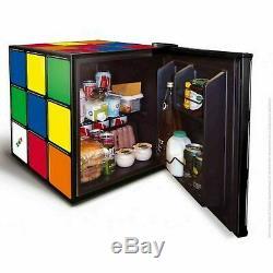 Husky Retro Rubik's Cube Table Top 43L Drinks Fridge HUS-HU231