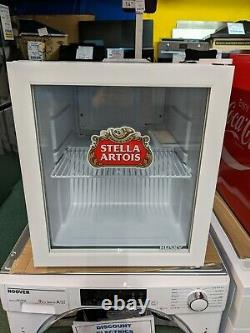 Husky Stella Artois Mini Tabletop Drinks Cooler 48 Litre Compact Chiller- White