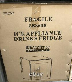 Ice Appliance Electric Cool Drinks Fridge 50L 60 Can New