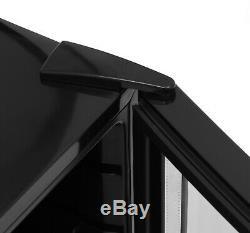 IceKing DF48K 48 Litre Table Top Mini Drinks Fridge Chiller, Glass Door Black