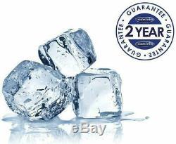 IceKing RK113AP2 Under Counter Fridge with Ice Box 48cm Freestanding White