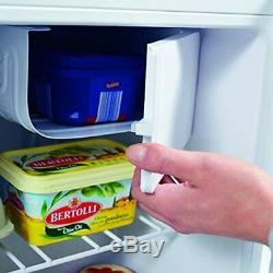Igenix IG3711 Table Top Mini Fridge Freezer in White 47L Capacity A+ Energy