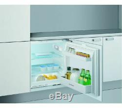 Indesit Built In/Integrated Under Counter Fridge A+ Frost Free White ILA1. UK. 1