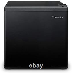 Inventor Mini Fridge 42L, Black, A++, Ideal for Bedroom and small Office space