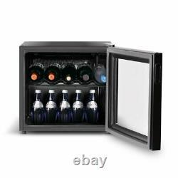 Inventor Vino 43L Mini Wine Cooler Fridge with Glass Door