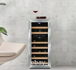 Kalamera 21 Bottle Dual Zone Freestanding Thermal Wine Fridge 21 Bottles
