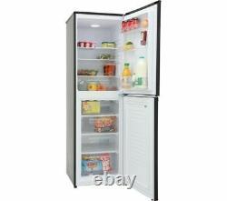 MONTPELLIER MS175BK 50/50 Fridge Freezer Reversible Door A+ Black Currys