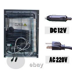 Mini Compact Fridge Portable Refrigerator 12V DC Quiet Freestanding RV Truck 44L