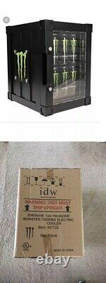 Monster Energy Drink Thermo Fridge Refrigerator Mini Fridge RARE COLLECTIBLE
