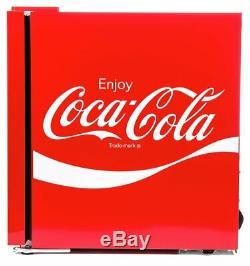 NEW Husky Coca-Cola Mini Fridge Drinks Cooler Official Coca Cola Coke Cool Red