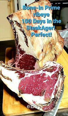 NEW! STEAKAGER MASTER SERIES 45 Dry Age Fridge Beef Aging Stainless Refrigerator