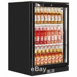 New Single Door Back Pub Bar Beer Wine Cooler Bottle Fridge & Free Delivery