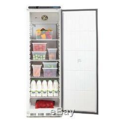 Polar 400 Litre Ltr White Single Fridge Commercial Refrigerator Catering CD612