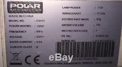 Polar REFRIDGERATOR Silver Single Door Display FREEZER COMMERCIAL 650L