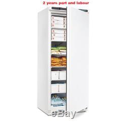 Polar Single Door Commercial Freezer White 600 Litre Restaurant Catering