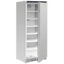 Polar Single Door Freezer Lockable & Reversible Door Stainless Steel 600L