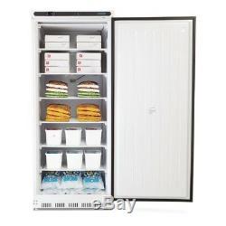 Polar Single Door Freezer in White Finish 7 Shelves & Reversible Door 600L
