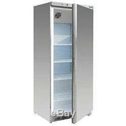 Polar Single Door Fridge Stainless Steel 600Litre Commercial Refrigerator