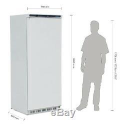 Polar Single Door Fridge White 600 Litre 1890X780X695mm Commercial Refrigerator